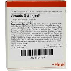 VITAMIN B 2 INJ HOM ALL